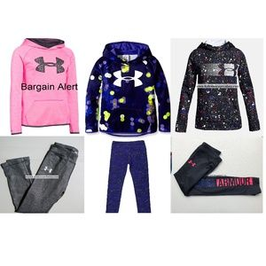 6pc Under Armour 6X Leggings Size Small Hoodies
